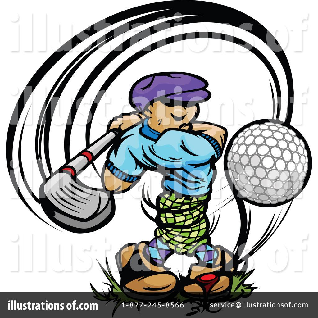 Golfer Logo Cli...