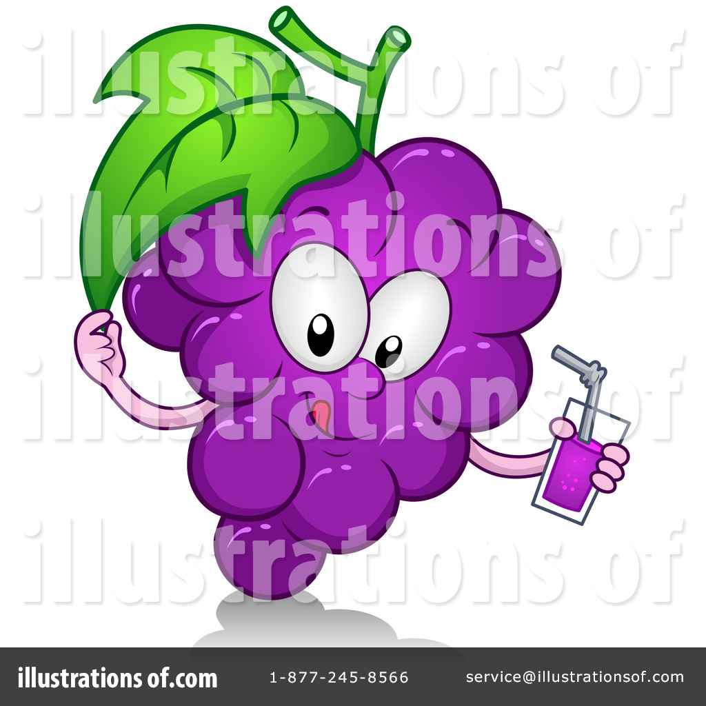 Grape Juice Clip Art (rf) grapes clipart