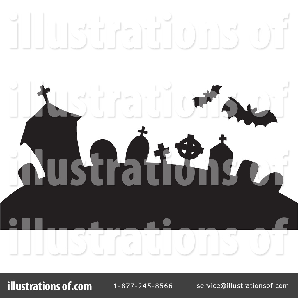 Graveyard Clipart #213174 - Illustration by visekart