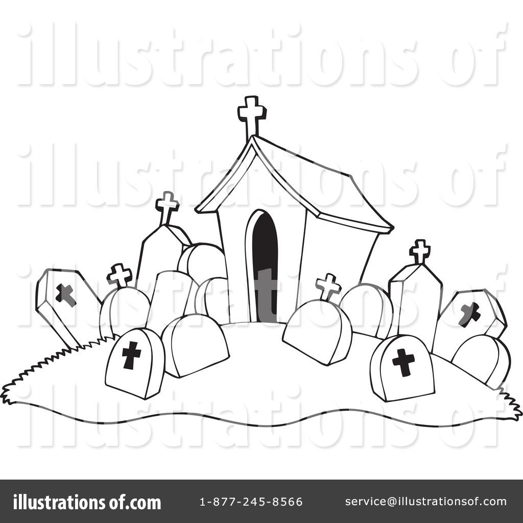 Graveyard Clipart 230268 Illustration