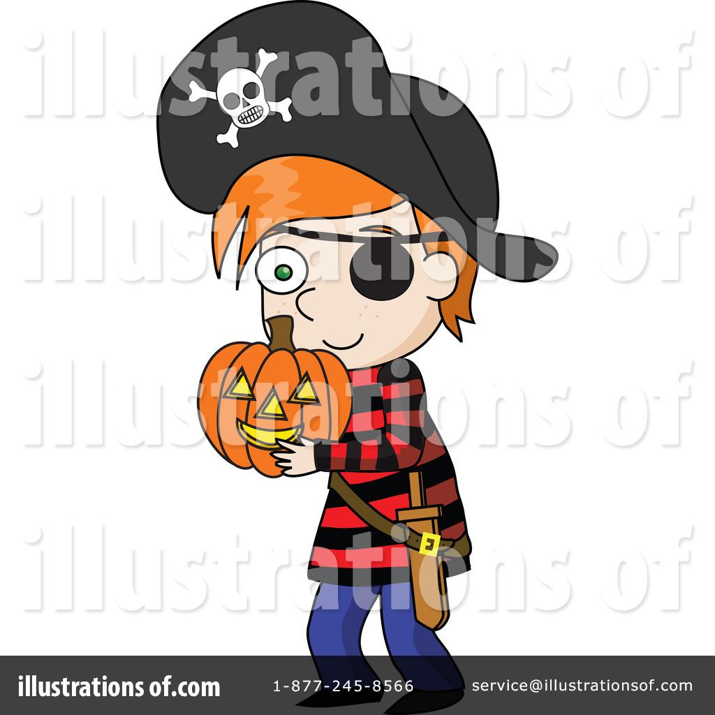 Halloween Costume Clipart #59616 - Illustration by Rosie Piter