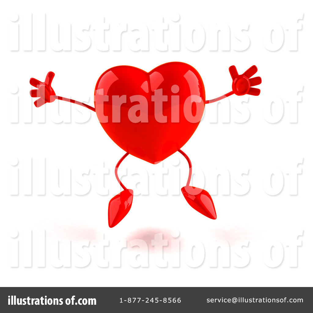 Heart Character Clipart 55471 Illustration By Julos