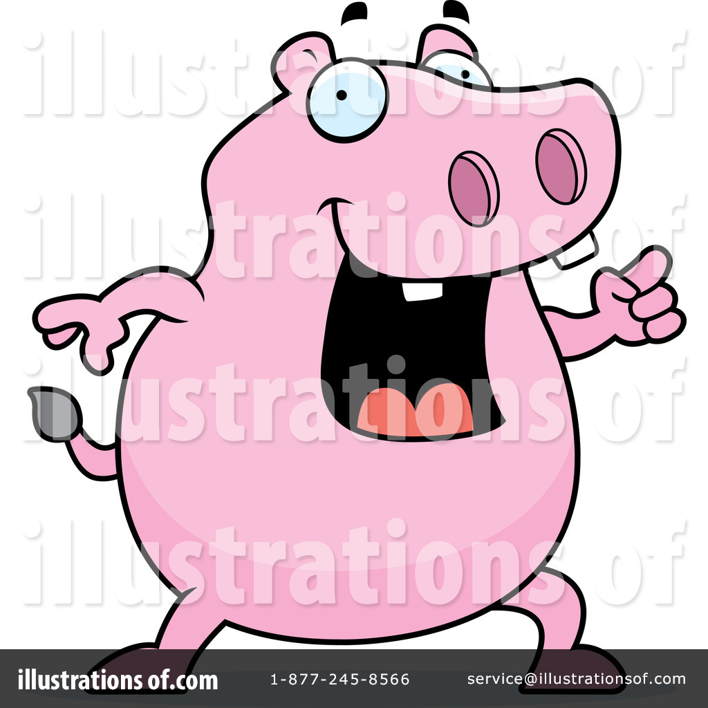 hippo clipart 218636 illustration by cory thoman rh illustrationsof com hippo clipart black and white hippo clipart black and white