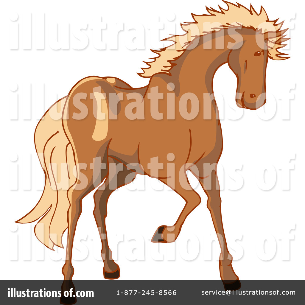 Royalty-Free (RF) Horse Clipart Illustration by Bad Apples - Stock ...