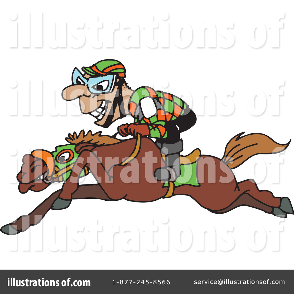 Horse Racing Clipart #1 - 170 Royalty-Free (RF) Illustrations