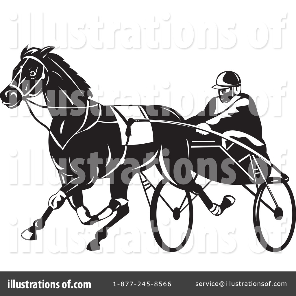 harness racing clip art free free