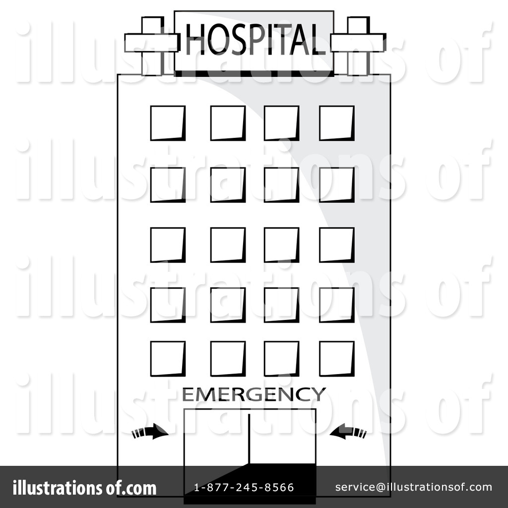 Hospital Clipart #86544 - Illustration by Pams Clipart