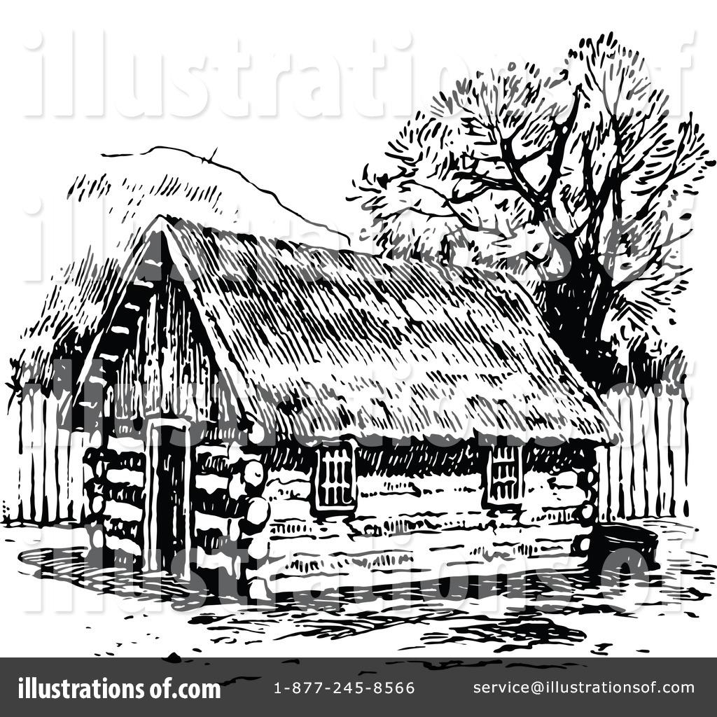 Hut Clipart 1154865 Illustration By Prawny Vintage