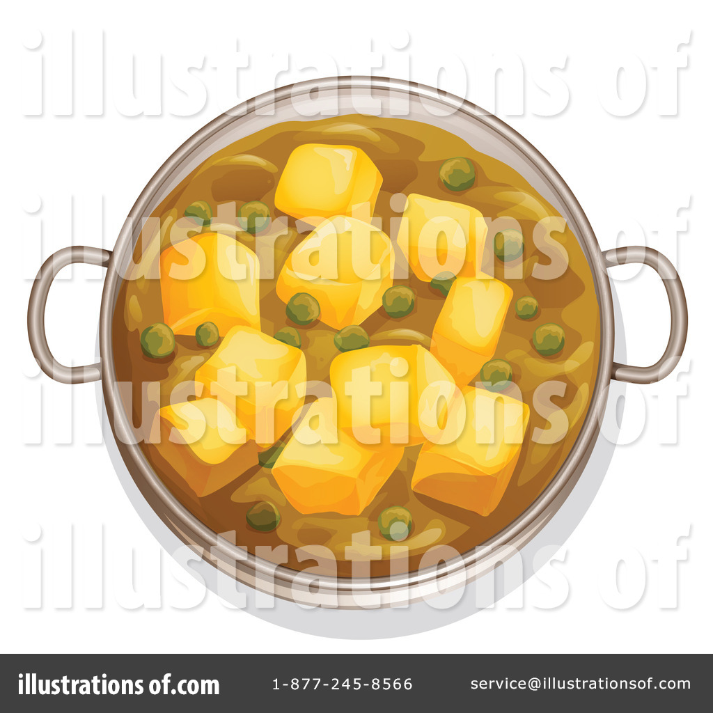 Indian cuisine clipart 1134679 by colematt royalty free for Art of indian cuisine