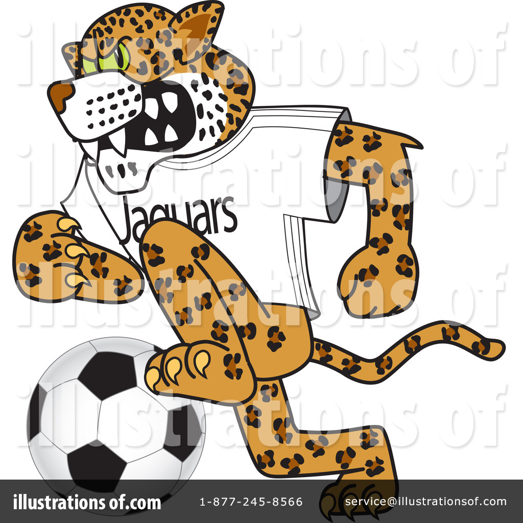Jaguar Character Clipart #62902 - Illustration by Toons4Biz