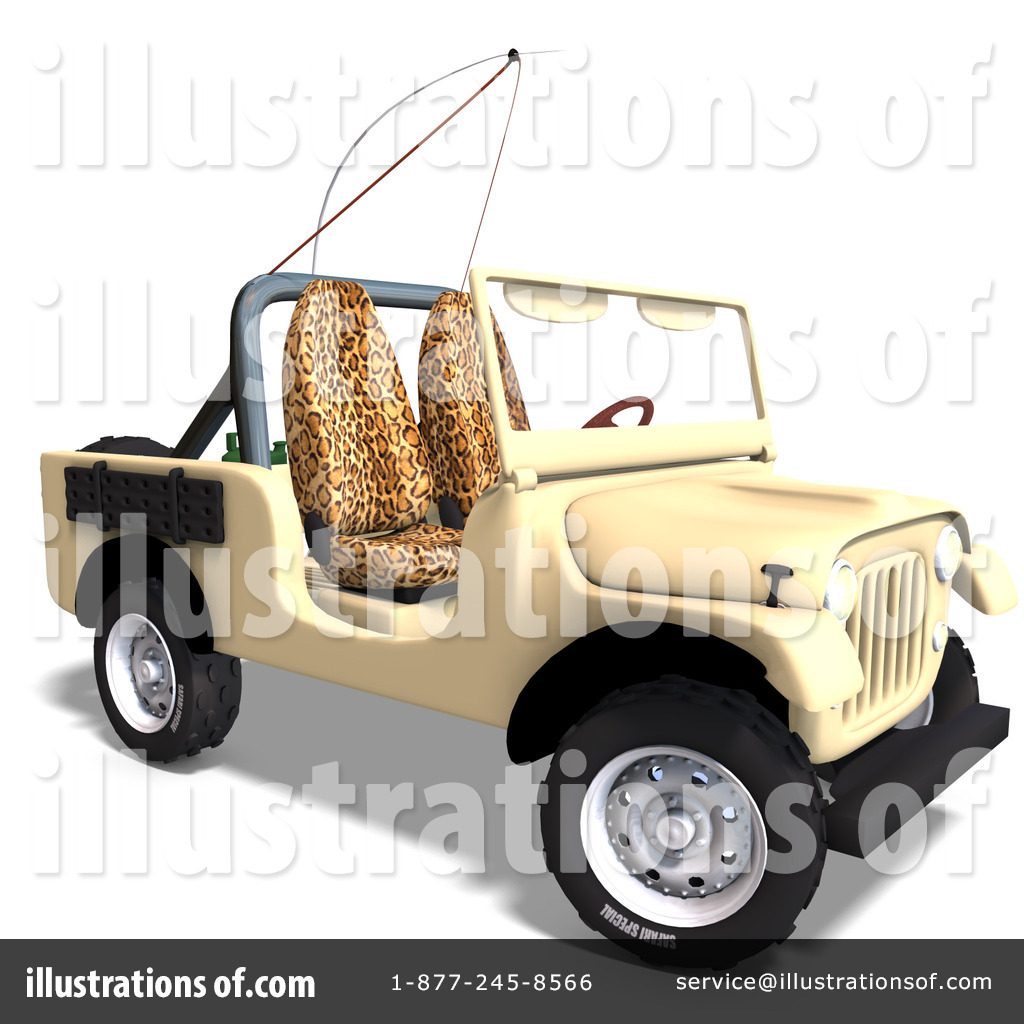 Jeep Wrangler Cartoon Clip Art
