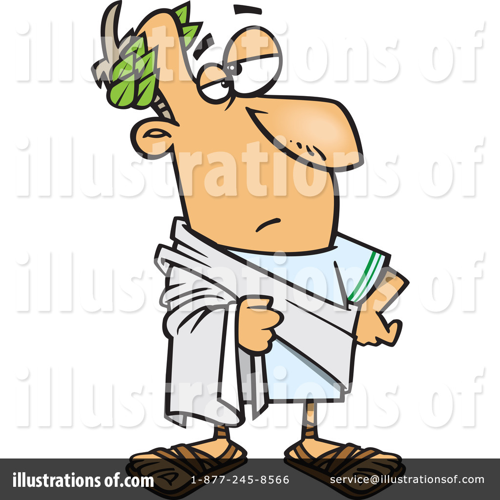 Royalty-Free (RF) Julius Caesar Clipart Illustration by Ron Leishman ...