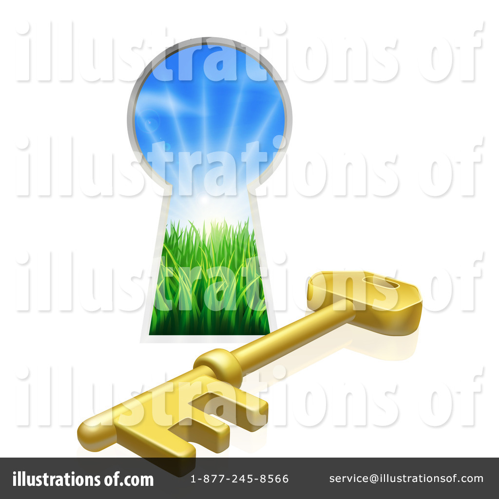 Key Hole Clipart #1104242 - Illustration by ...