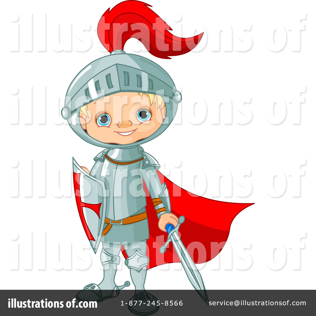 Knight Clipart #1102828 - Illustration by Pushkin