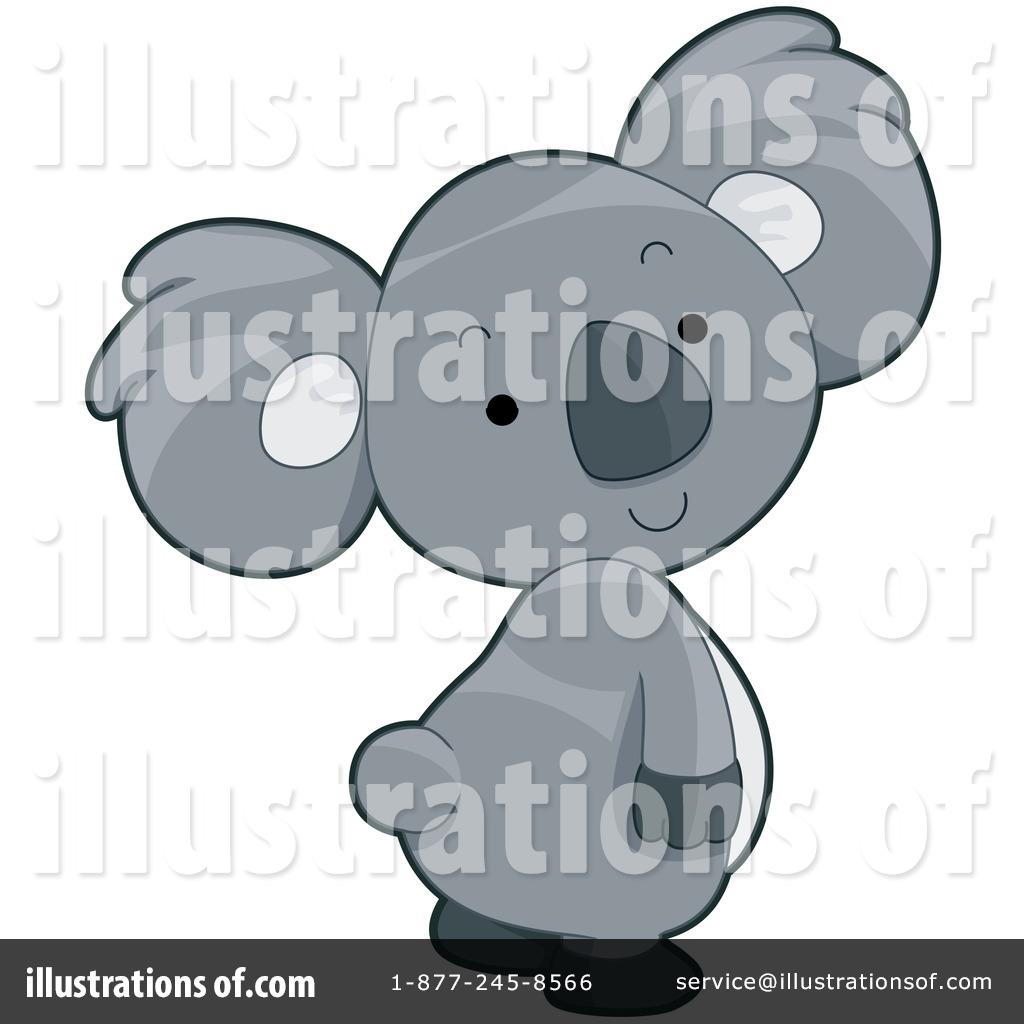 Koala Art And Design : Koala clipart  illustration by bnp design studio