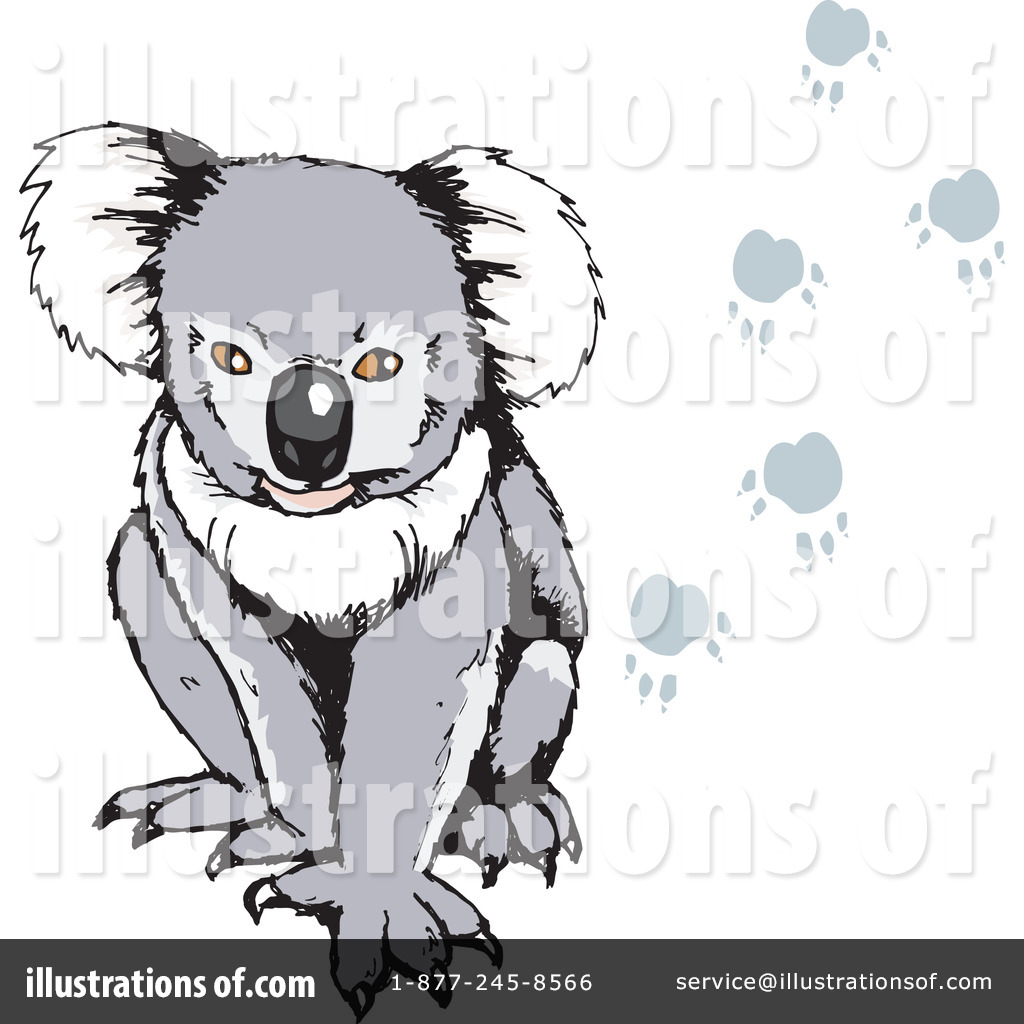 Koala Art And Design : Koala clipart illustration by dennis holmes designs