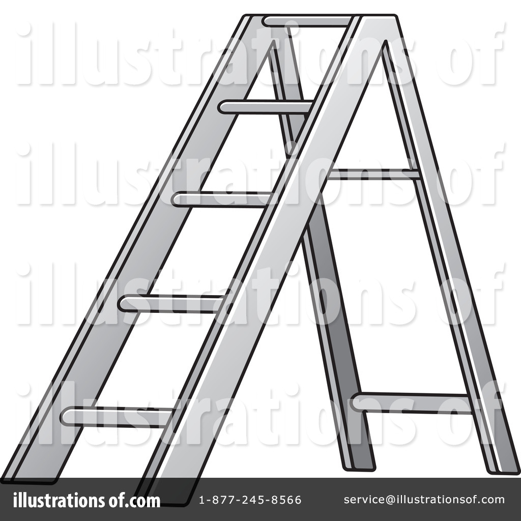 Ladder Clipart #1212031 - Illustration by Lal Perera