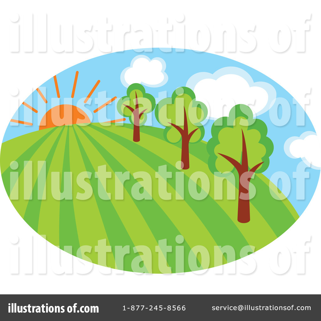 Landscape Illustration Vector Free: Landscape Clipart #1062368