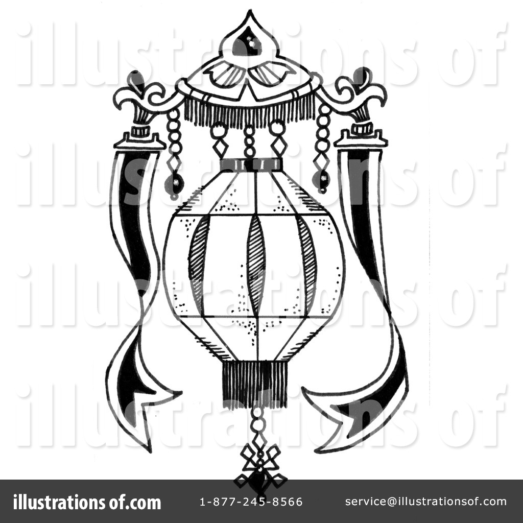 Royalty Free RF Lantern Clipart Illustration 50013 By LoopyLand