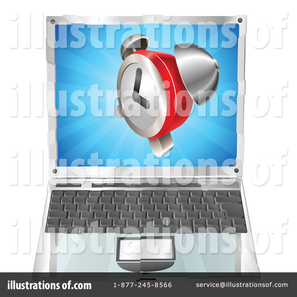 Laptop Clipart #1071813 by Geo Images