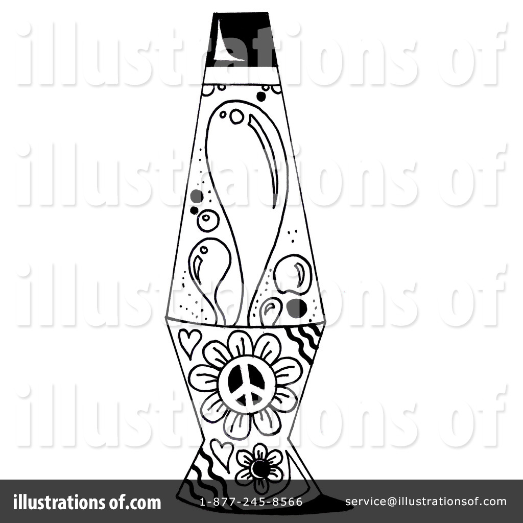 Royalty Free (RF) Lava Lamp Clipart Illustration #1158439 By LoopyLand