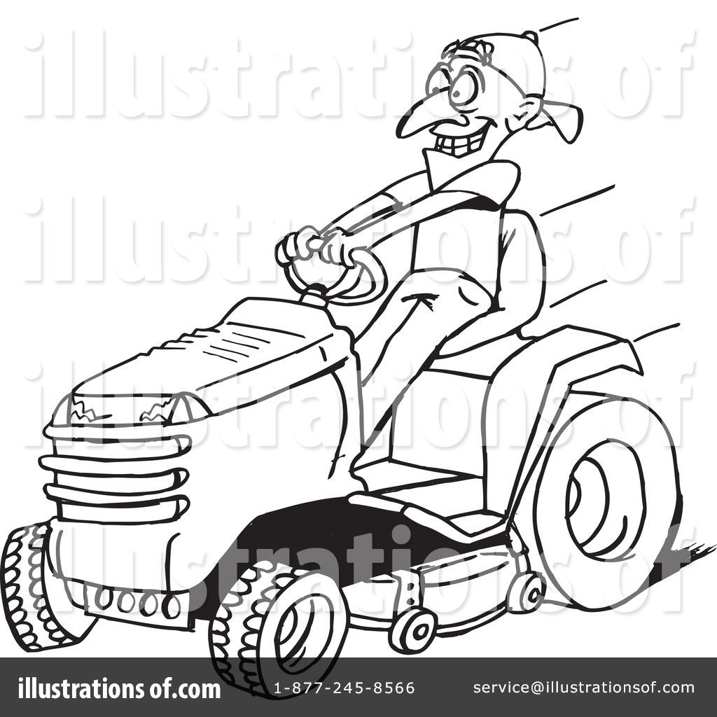 Riding Lawn Mower Clip...