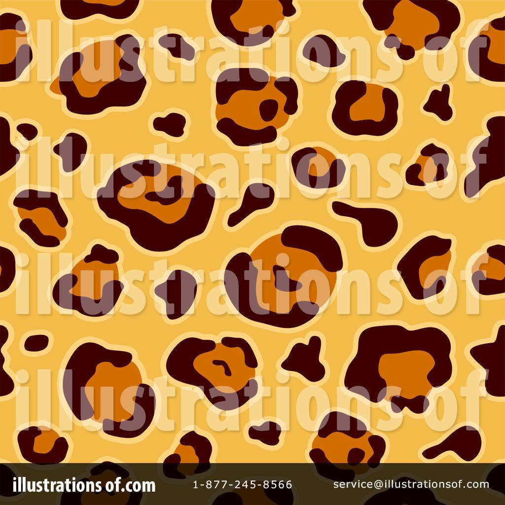 leopard print clipart  1167625