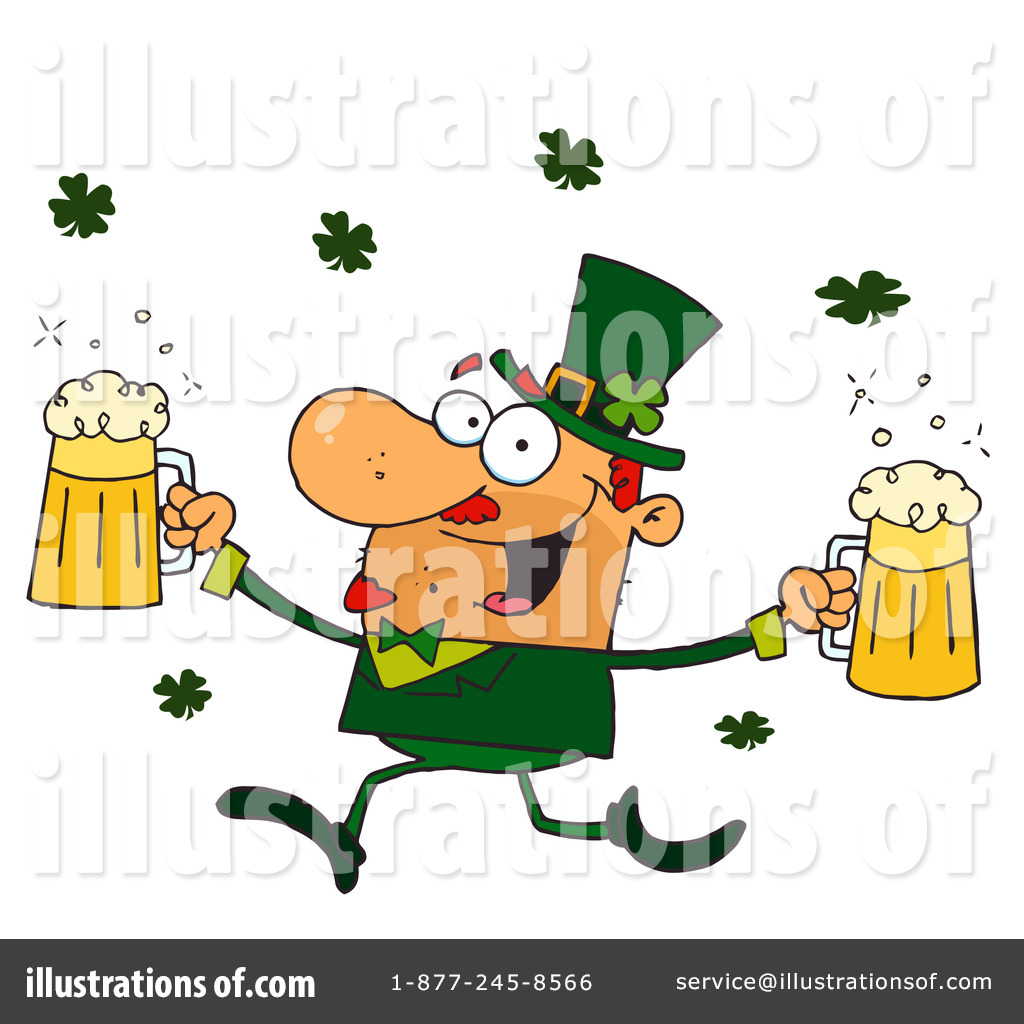 Leprechaun Clipart #91548 - Illustration by Hit Toon