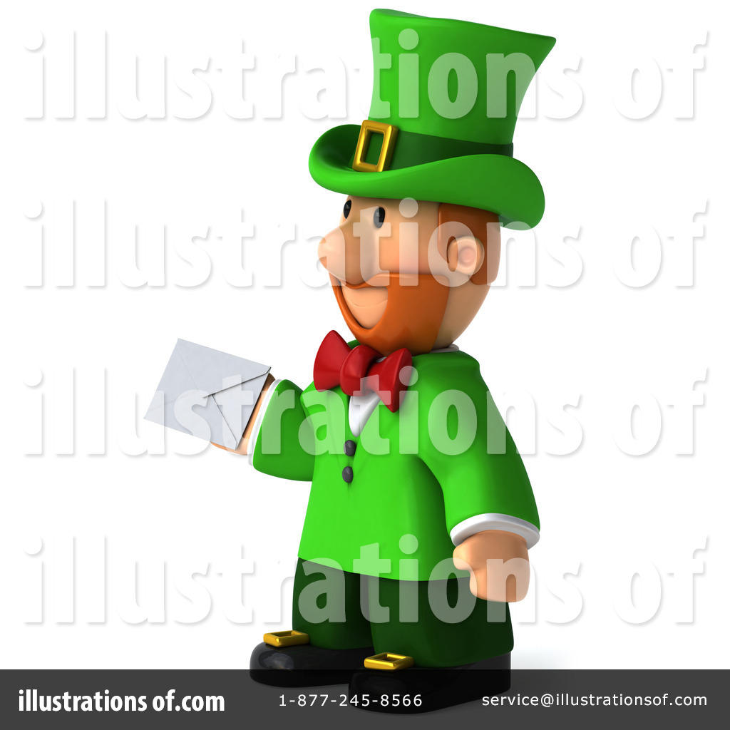 Leprechaun Clipart #433932 - Illustration by Julos