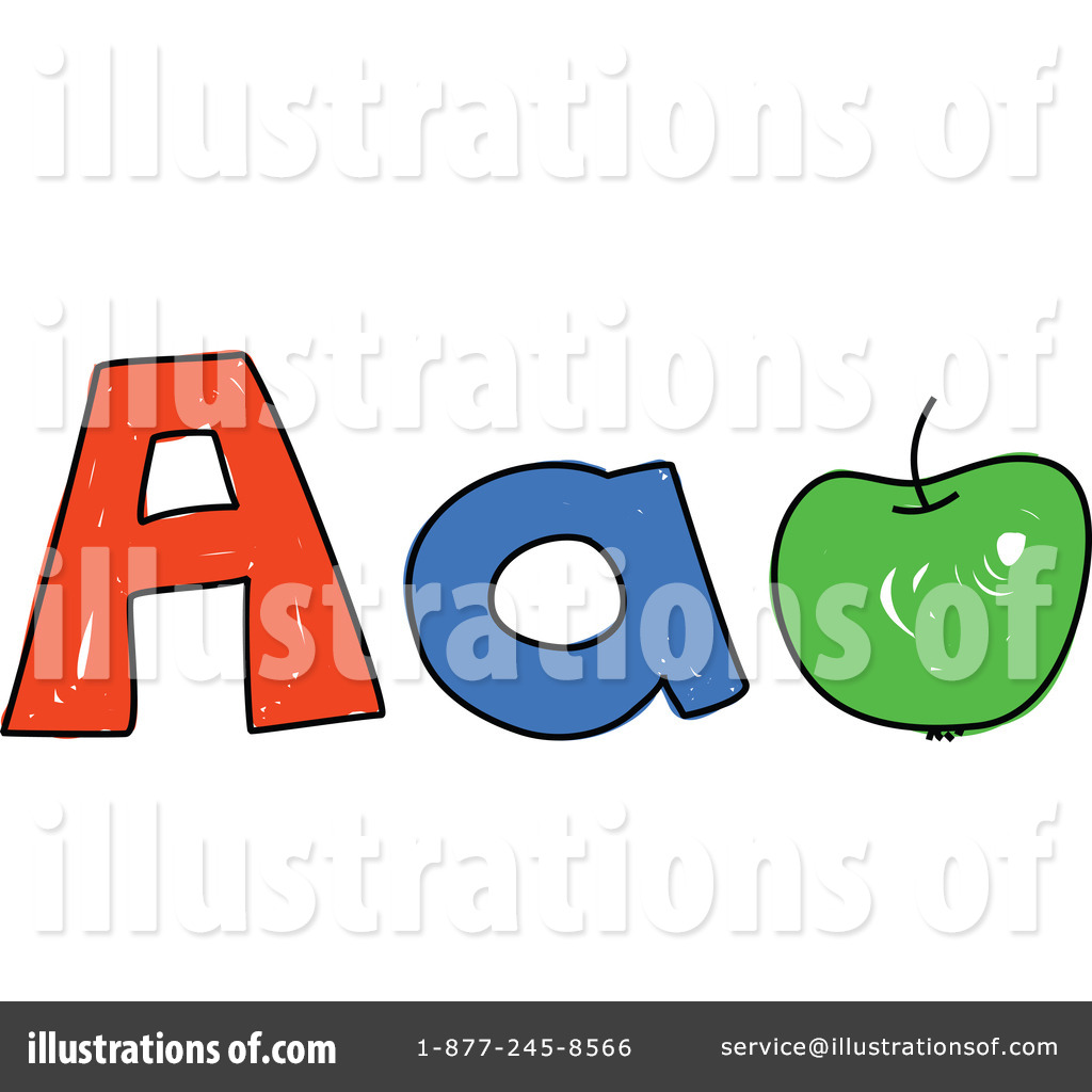 Letter A Clipart #214175 - Illustration by Prawny