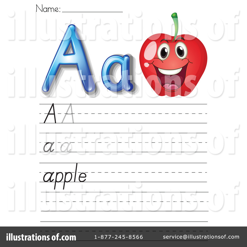 Worksheet Clip Art : Letter worksheet clipart illustration by colematt