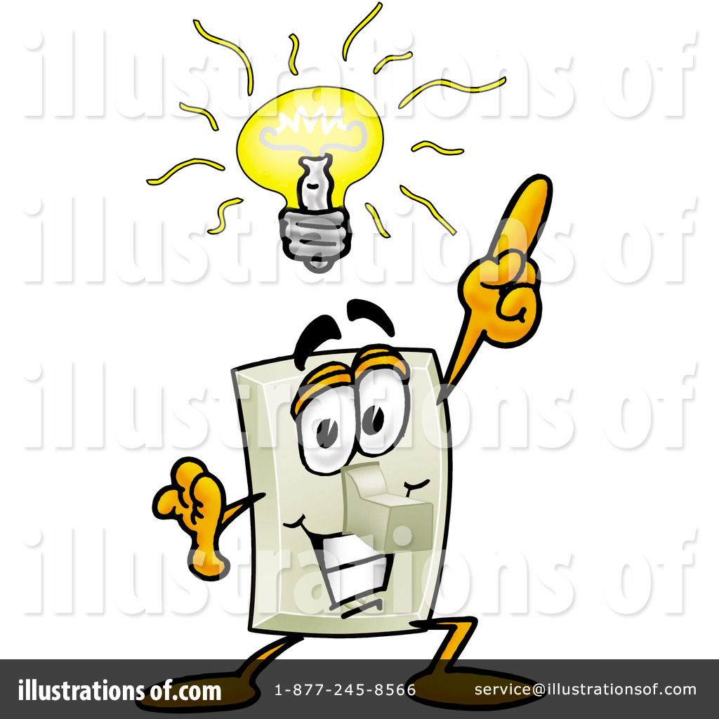 Light switch clipart 9797 illustration by toons4biz royalty free rf light switch clipart illustration 9797 by toons4biz sciox Gallery