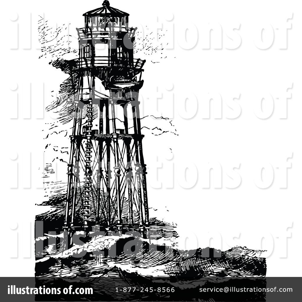Lighthouse Clipart #1207421 - Illustration by Prawny Vintage