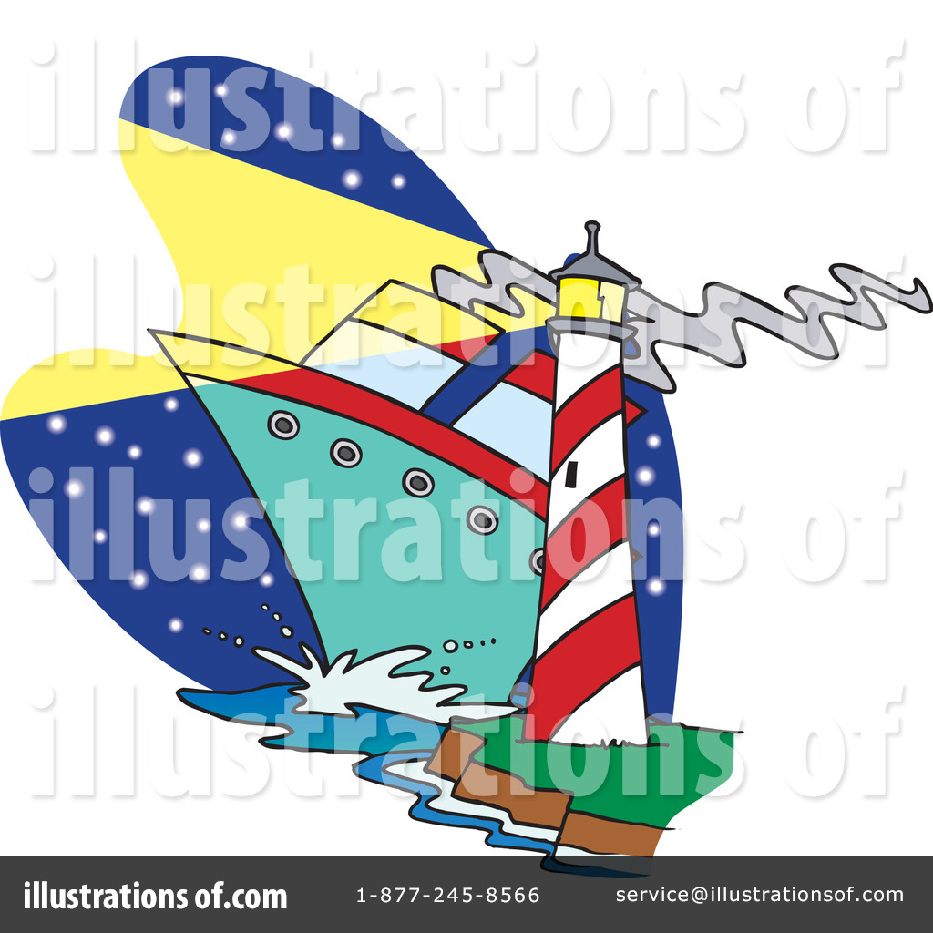 royalty-free-rf-lighthouse-clipart-illustration-by-ron-leishman-stock ...