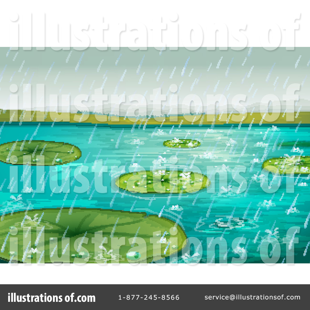 Lily Pad Leaf Clip Art (rf) lily pad clipart
