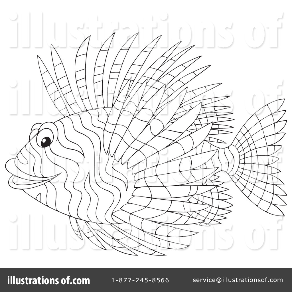 Adult Best Lionfish Coloring Page Images best lionfish clipart 1059731 illustration by alex bannykh royalty free rf gallery images