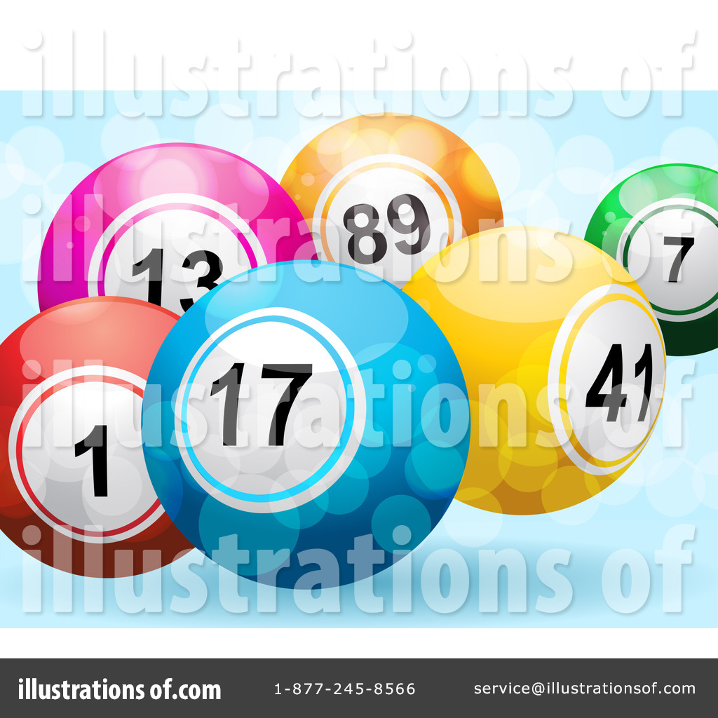 Lottery Balls Clipart #1067791 by Elaine Barker | Royalty ...
