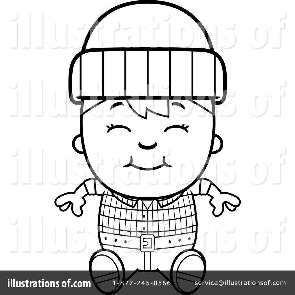 printable lumberjack coloring pages - photo#28
