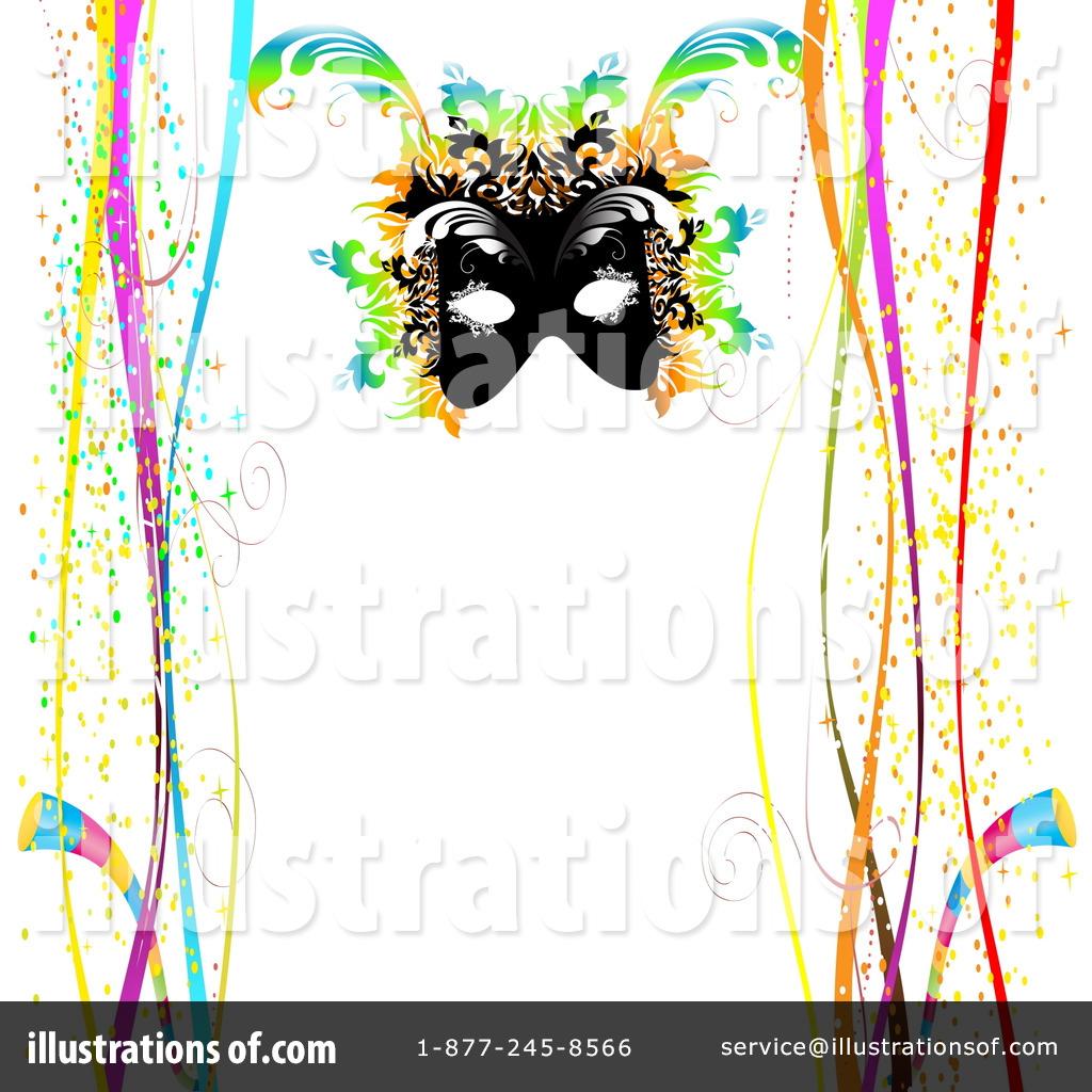 Mardi Gras Borders Clip Art (rf) mardi gras clipart