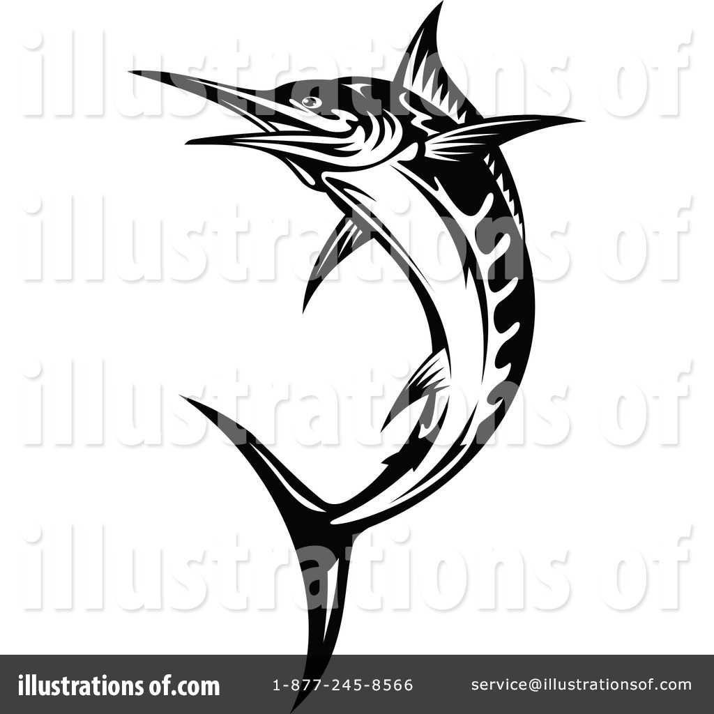 Marlin Clipart #1096122 by Seamartini Graphics | Royalty-Free (RF ...