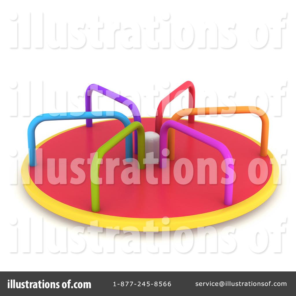 merry go round clipart 1080464 illustration by bnp design studio. Black Bedroom Furniture Sets. Home Design Ideas