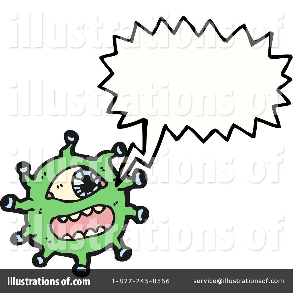 Royalty free rf microbe clipart illustration by lineartestpilot