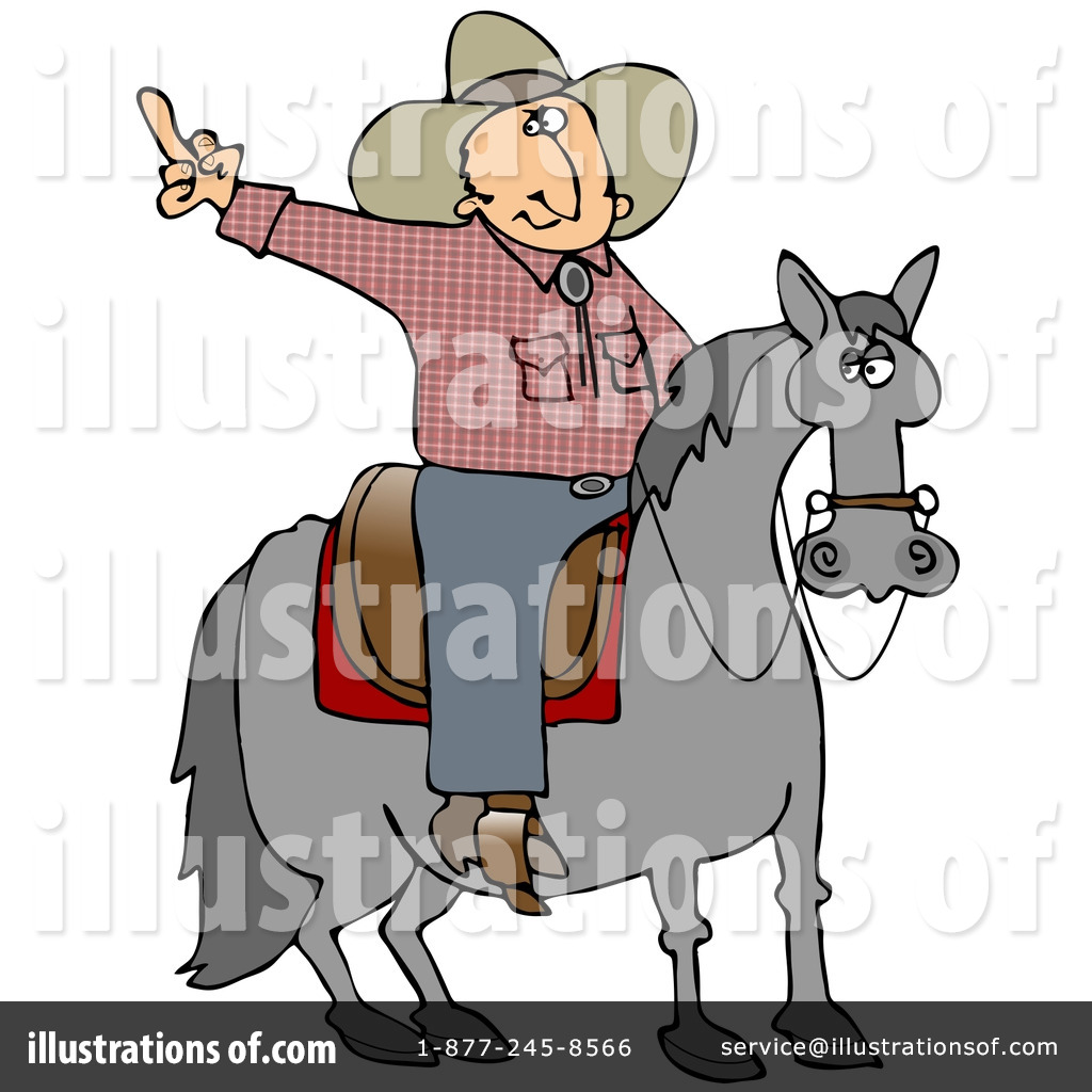 Middle Finger Clipart #17627 - Illustration by Dennis Cox