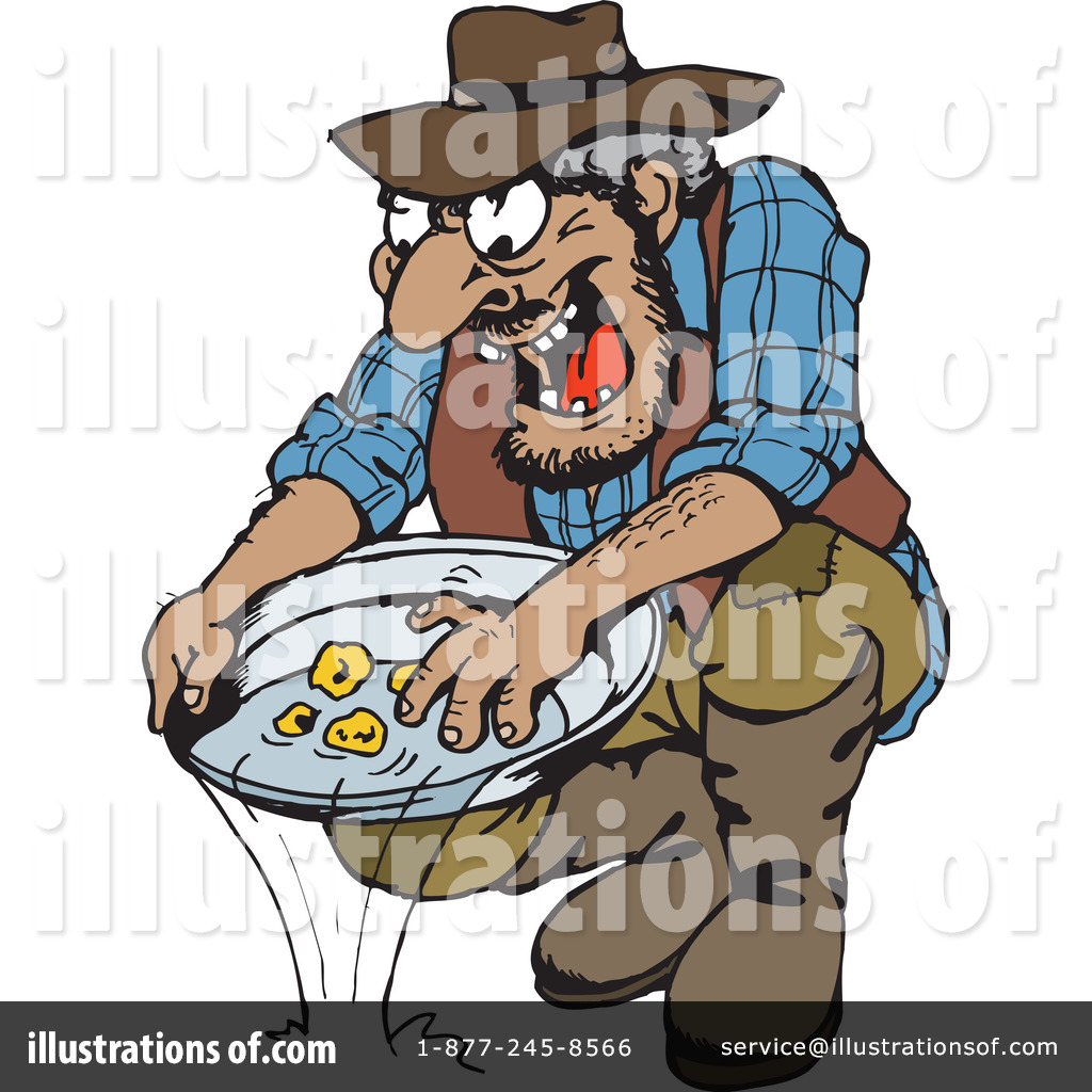 Mining Clipart #43227 - Illustration by Dennis Holmes Designs
