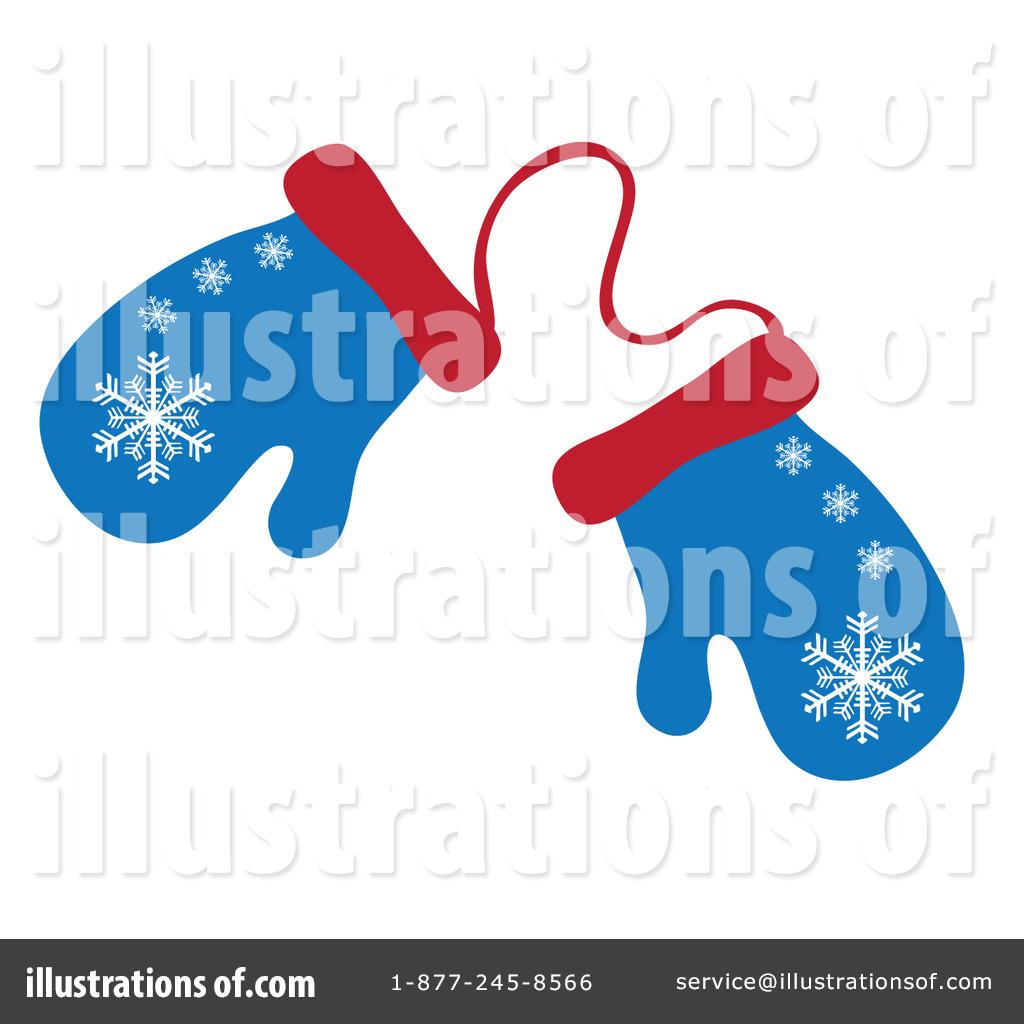 Winter Mittens Clipart (rf) mittens clipart