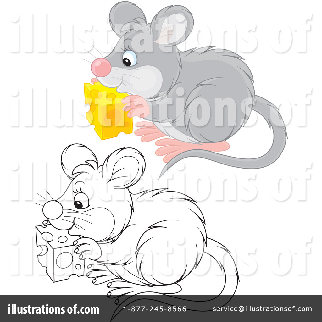 Mouse Clipart 1199646 By Alex Bannykh Royalty Free RF