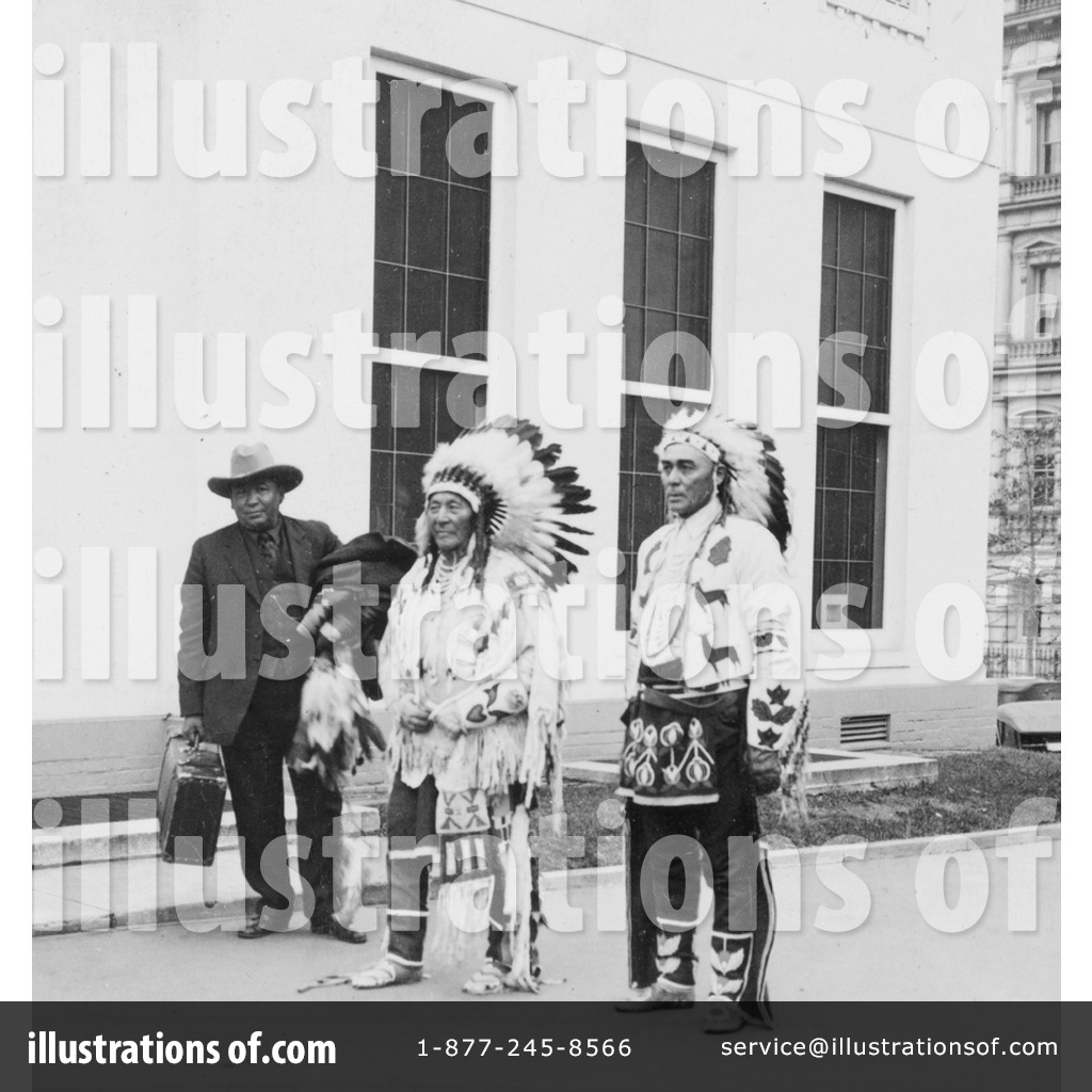 Royalty-Free (RF) Native Americans Clipart Illustration by JVPD ...