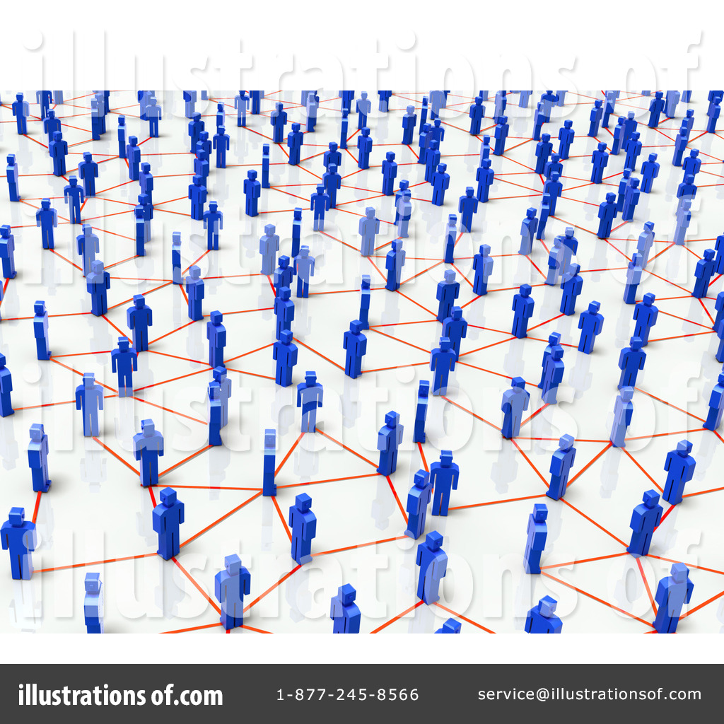 Royalty-Free (RF) Network Clipart Illustration by Tonis Pan - Stock ... Unique Person In A Crowd