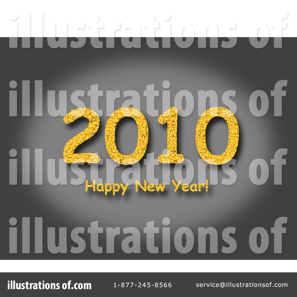 Royalty free rf new year clipart illustration by oboy stock sle