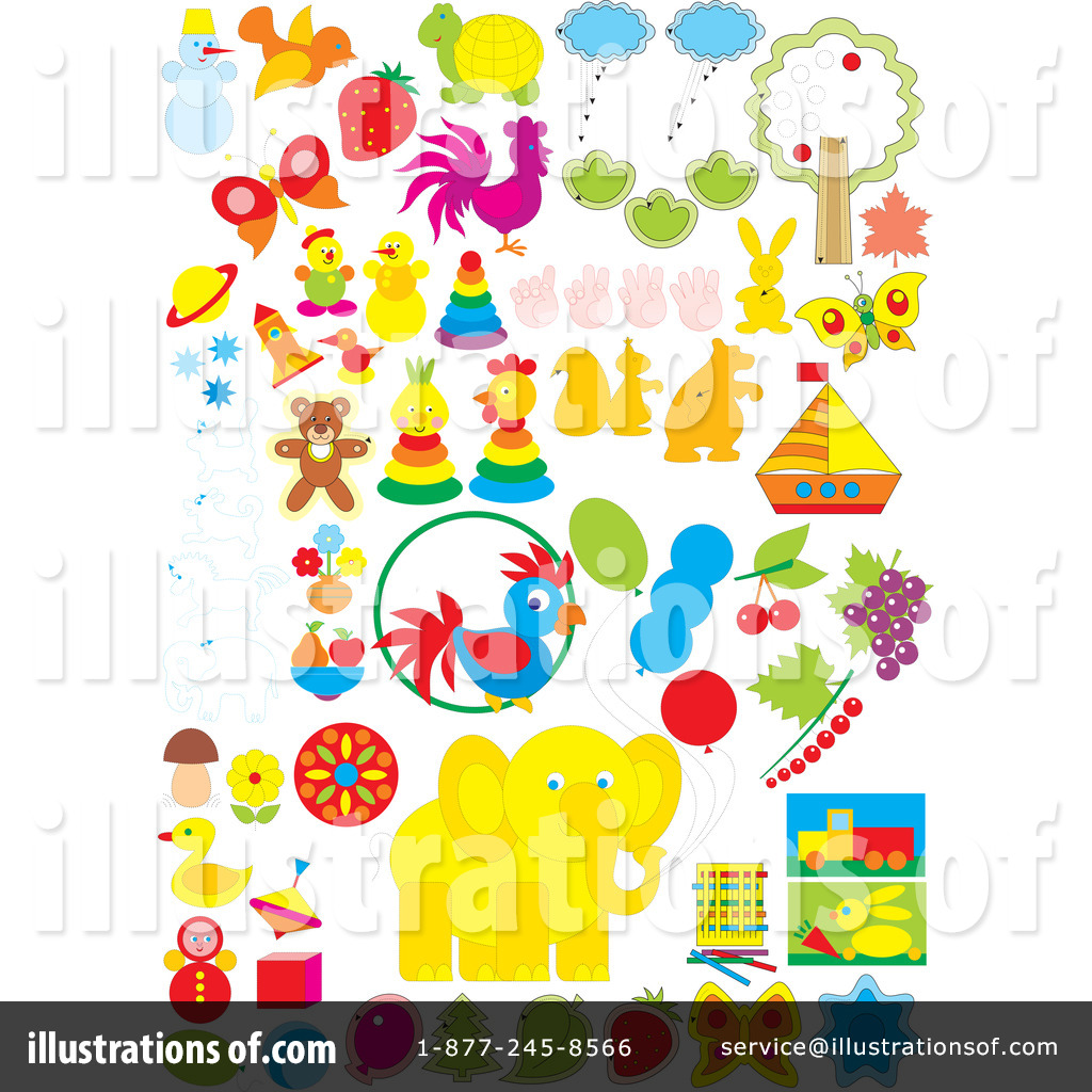 Objects Clipart #38053 - Illustration by Alex Bannykh